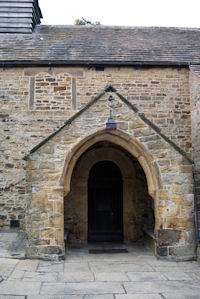 Entrance Porch to St. Lawrence, Barlow