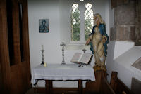 Lady's Quire Side Chapel Altar St. Lawrence Barlow